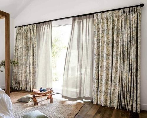 10 Patio Door Curtain Ideas You Ll Love, What Size Curtains For Sliding Glass Doors