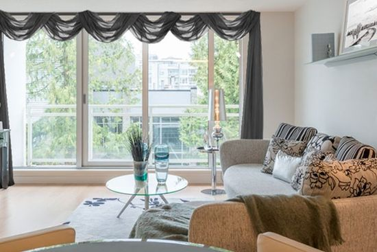 How to Hang Window Scarf Curtains