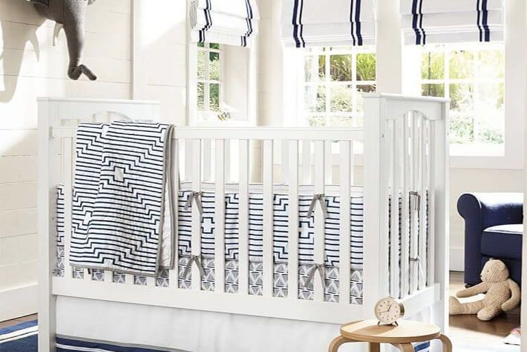 6 Nursery Window Treatment Ideas (And How to Safely Hang Them)