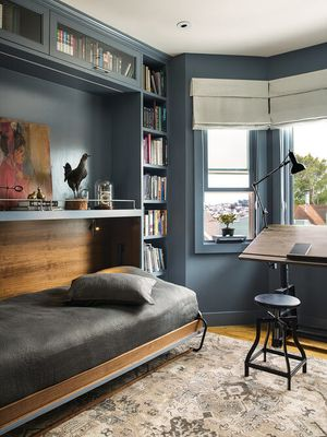 Add a Murphy Bed to Your Home Office Guest Room
