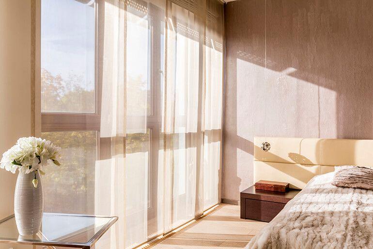 6 Curtain Ideas for Wide Windows