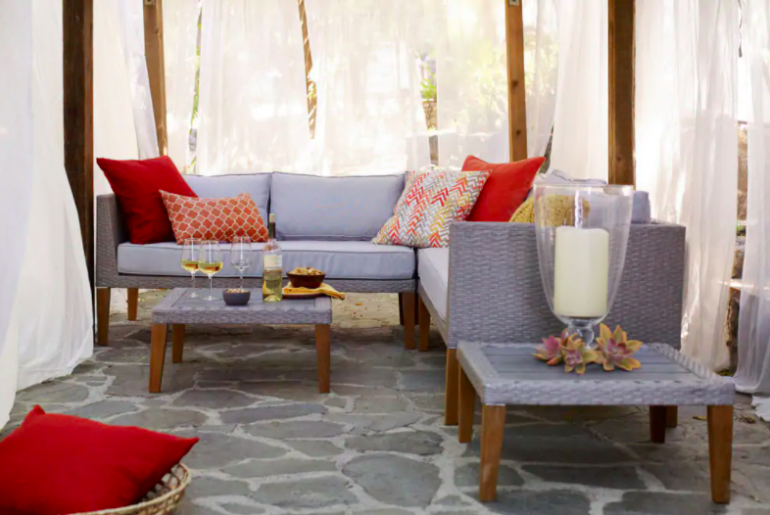 How to Hang Outdoor Curtains With Ease