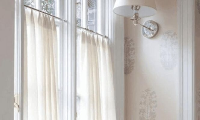 To Hang Curtains Without Drilling, How To Put Curtains On A Tension Rod