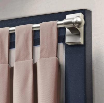 To Hang Curtains Without Drilling, Can A Tension Rod Hold Blackout Curtains