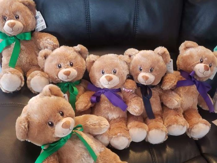 A toy comforted him while he was in the hospital. Now he has donated over 3,000 Build-A-Bears for hospitalized kids