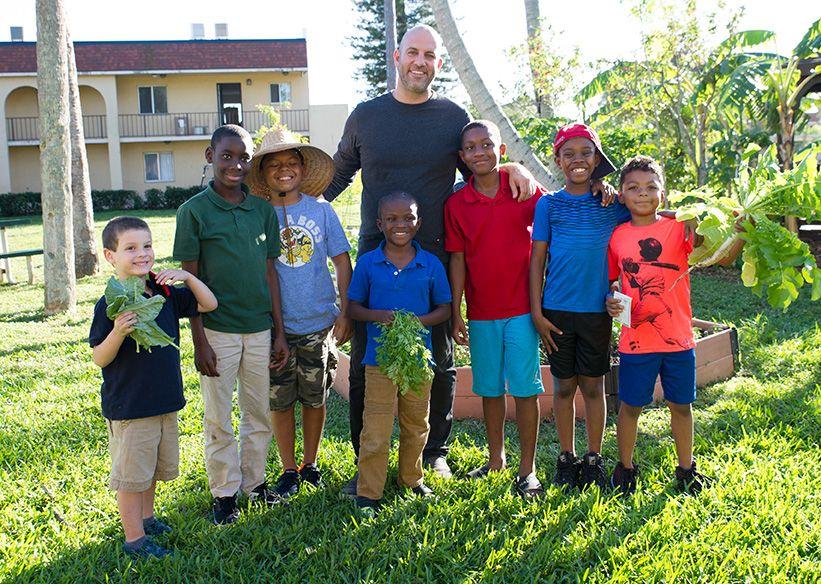Moshe and kids