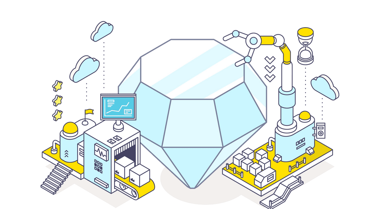 Building a diamond