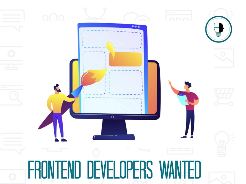 frontend developers wanted