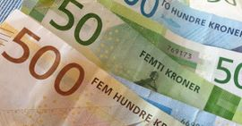 Gavekort verdt 2 000 kroner