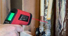 Infrarødt termometer med laser