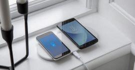 Trådløs lader til smarttelefon