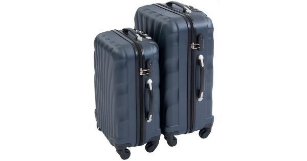 Koffertsett Gråblå farge