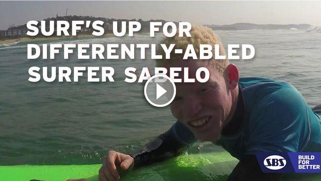 Sabelo the Surfer