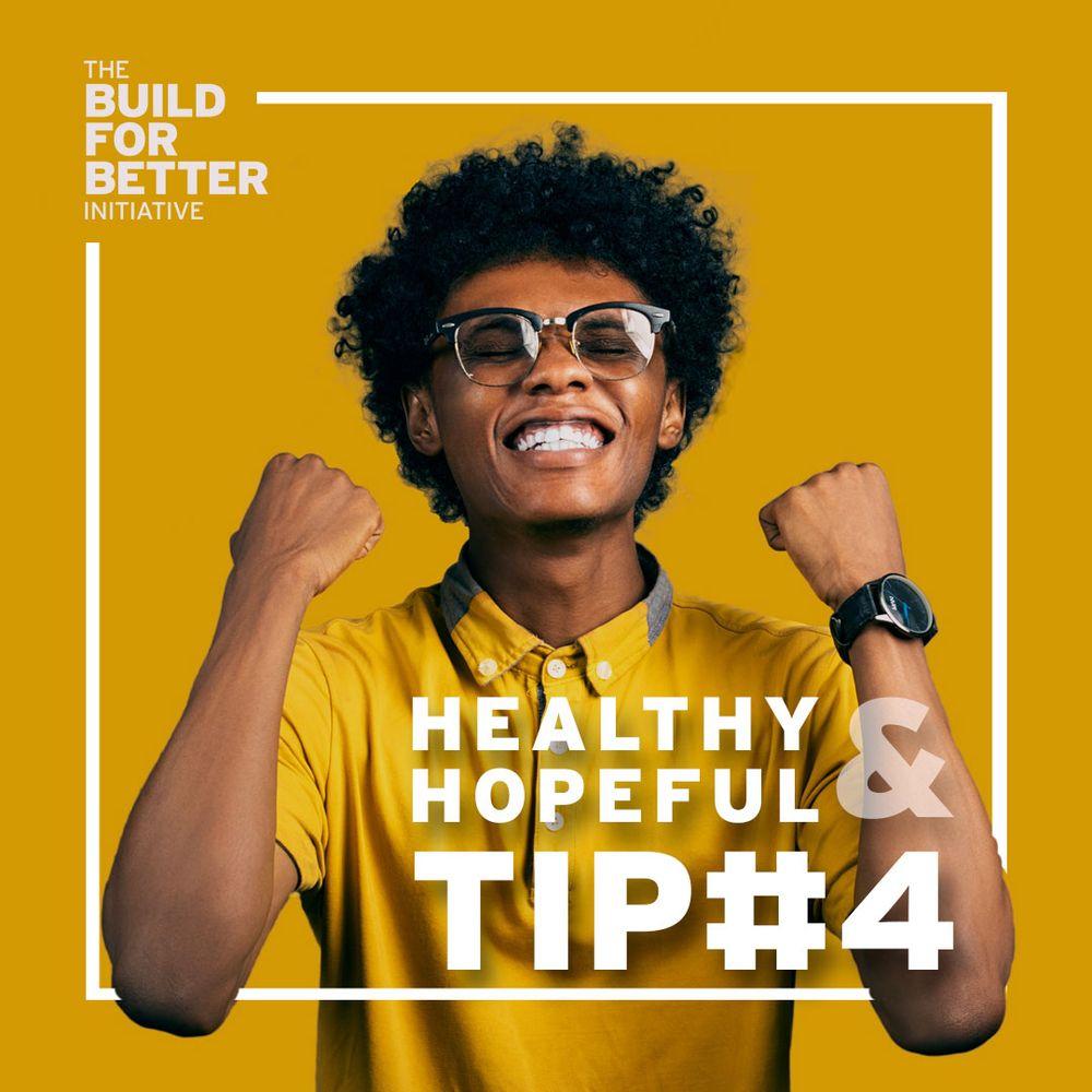 Healthy & Hopeful: Tip#4