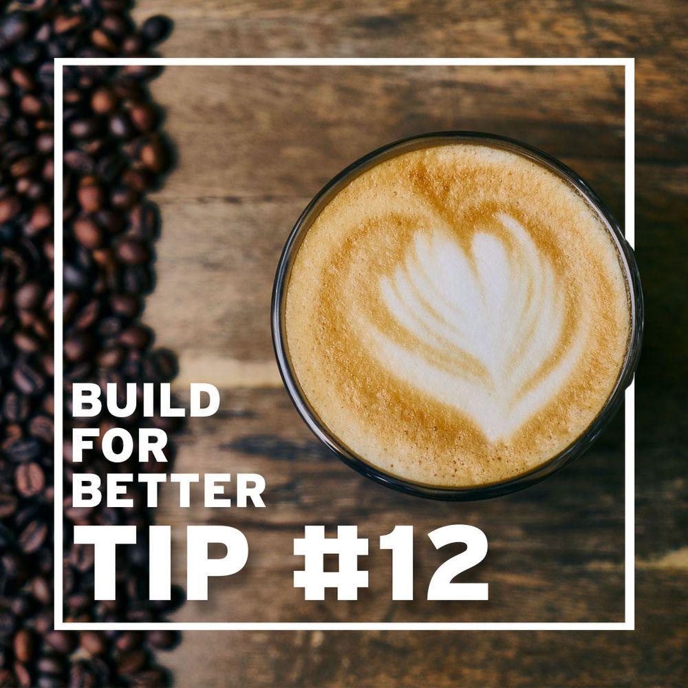 Tip #12 Caffeine risks