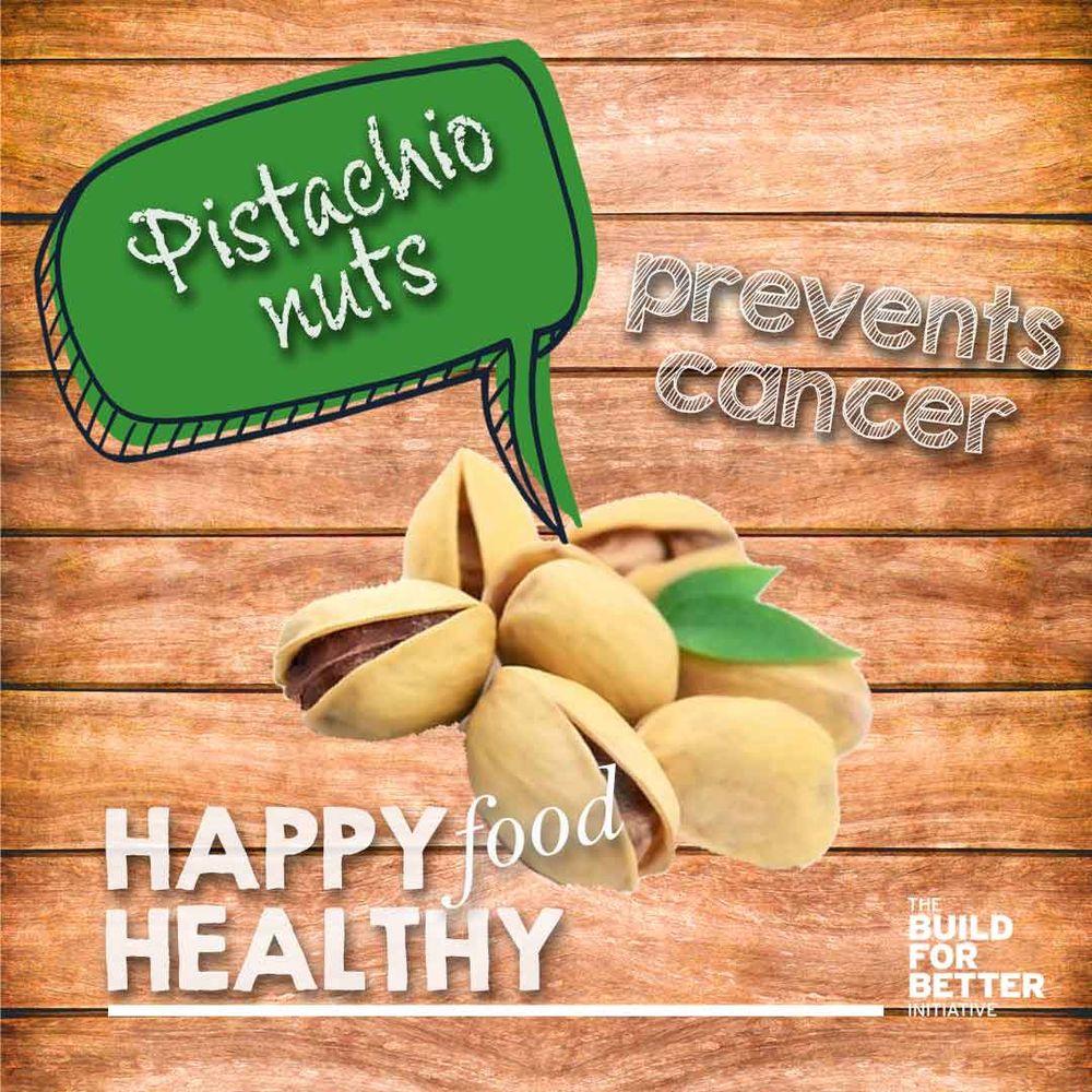 HAPPY HEALTHY FOOD - pistachios