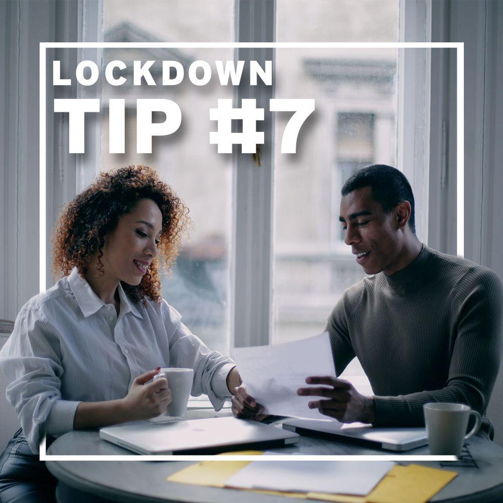 Lockdown tip #7 - Beyond the curve - paperwork