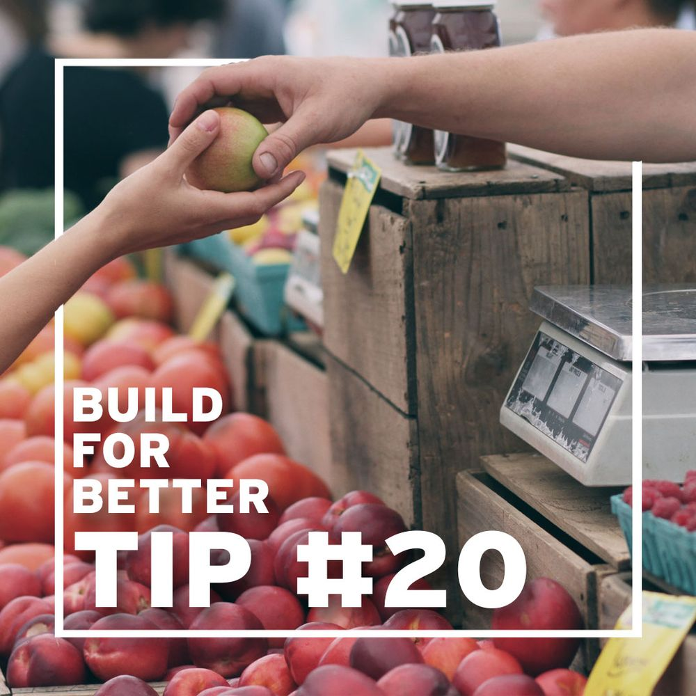 Tip #20 - Help your neighbour