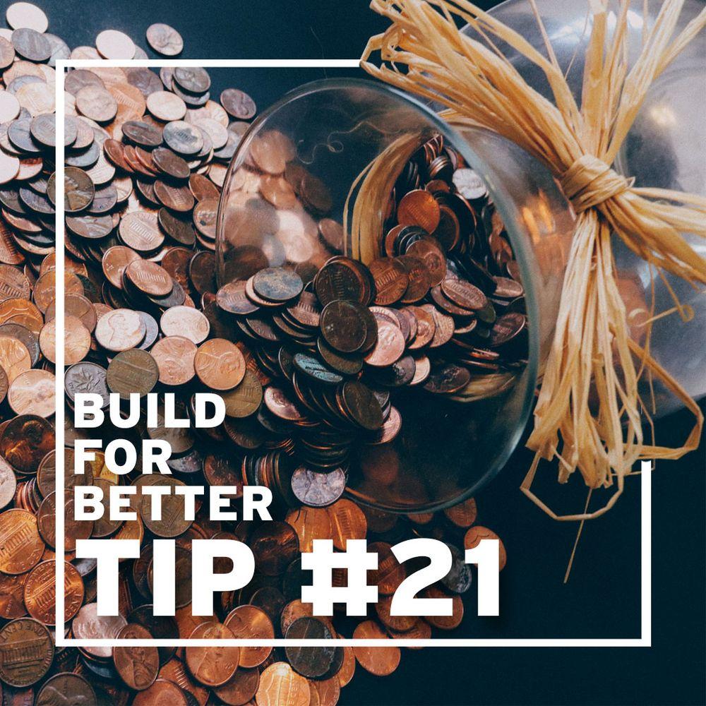 Tip #21 - Donate money