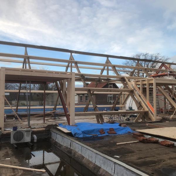 Hellend dak renovatie