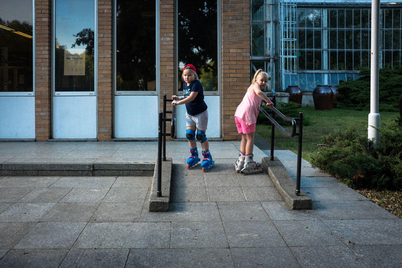 spielende Kinder im Wilson Park in Rynek