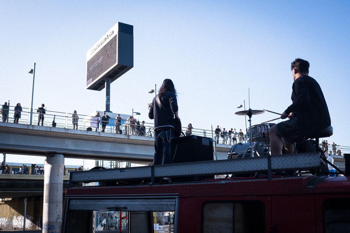 Kostenloses Konzert an der Warschauer Straße in Berlin
