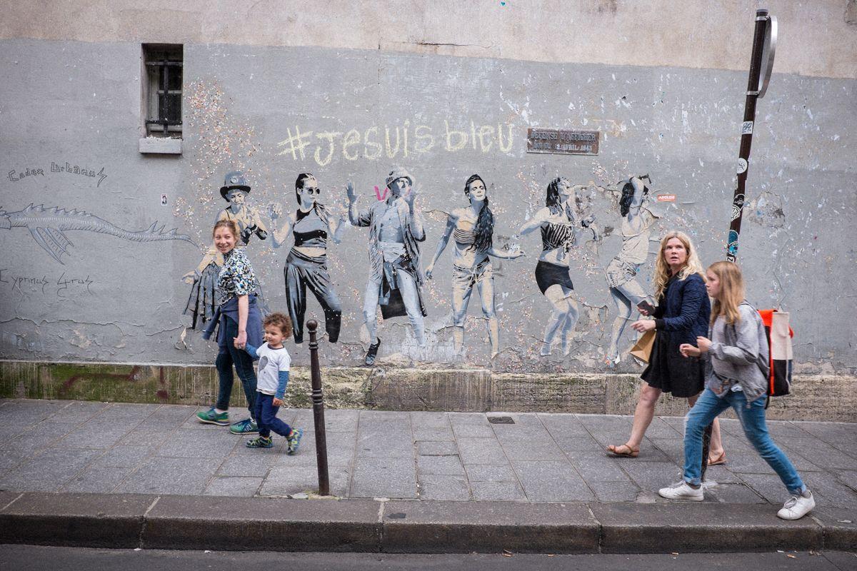 Paris feiern gehen