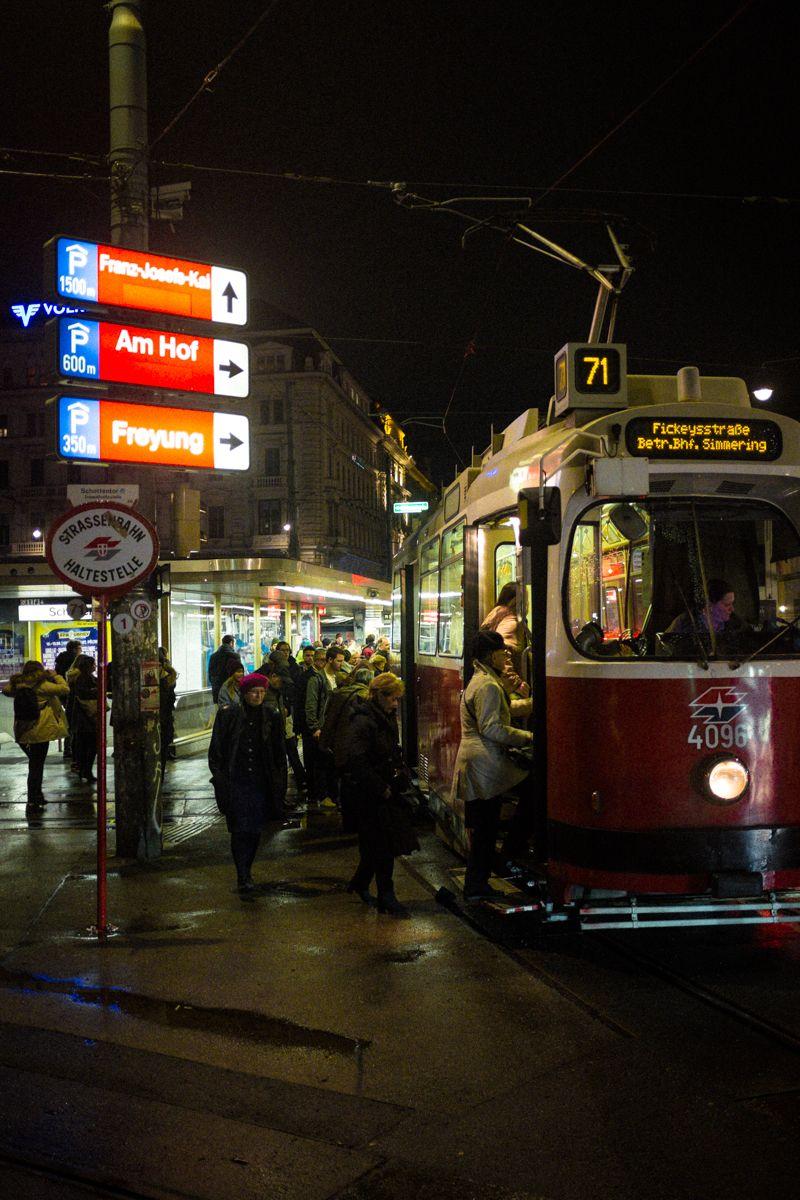 Wiener Straßenbahn am Ring