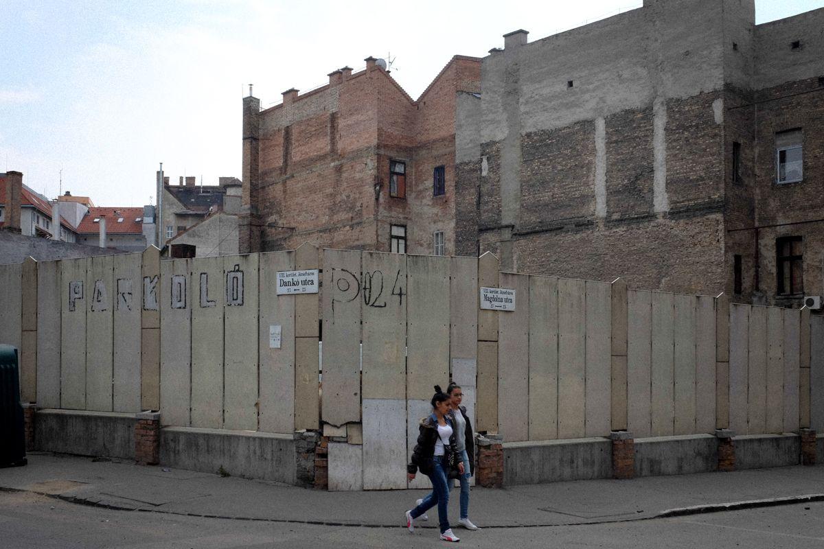 altes Budapester Stadtviertel