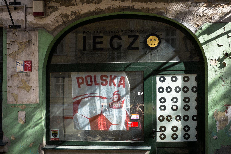 geschlossene Bar in Rynek