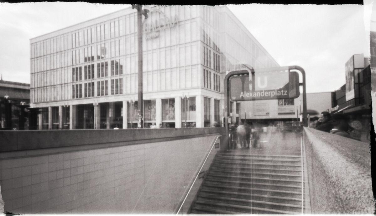 Lochkamera Berlin Alexanderplatz