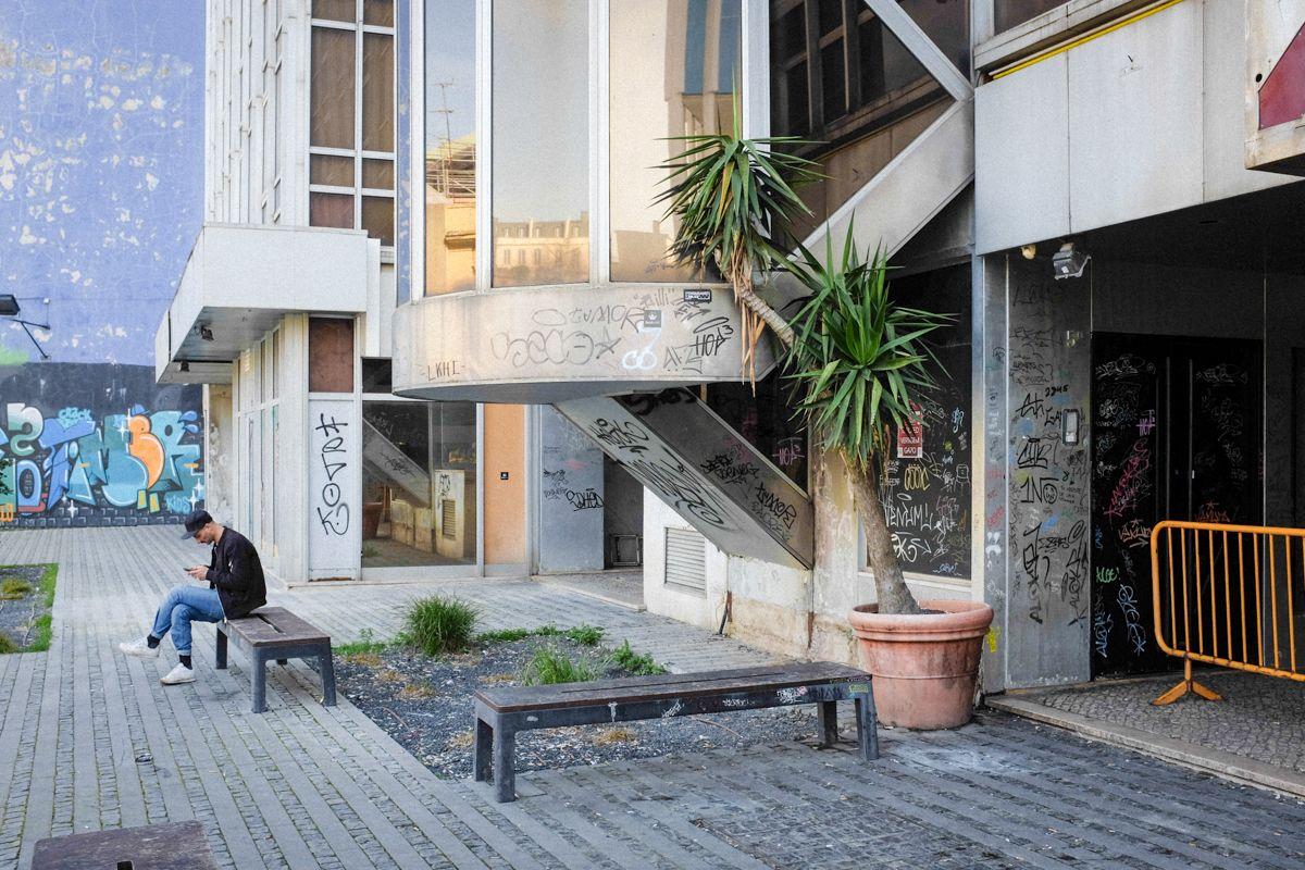 leerstehendes Gebäude Lissabon