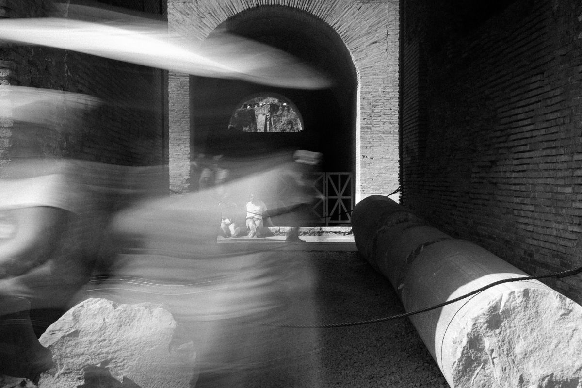 Langzeitbelichtungen Rom - Kolosseum #2