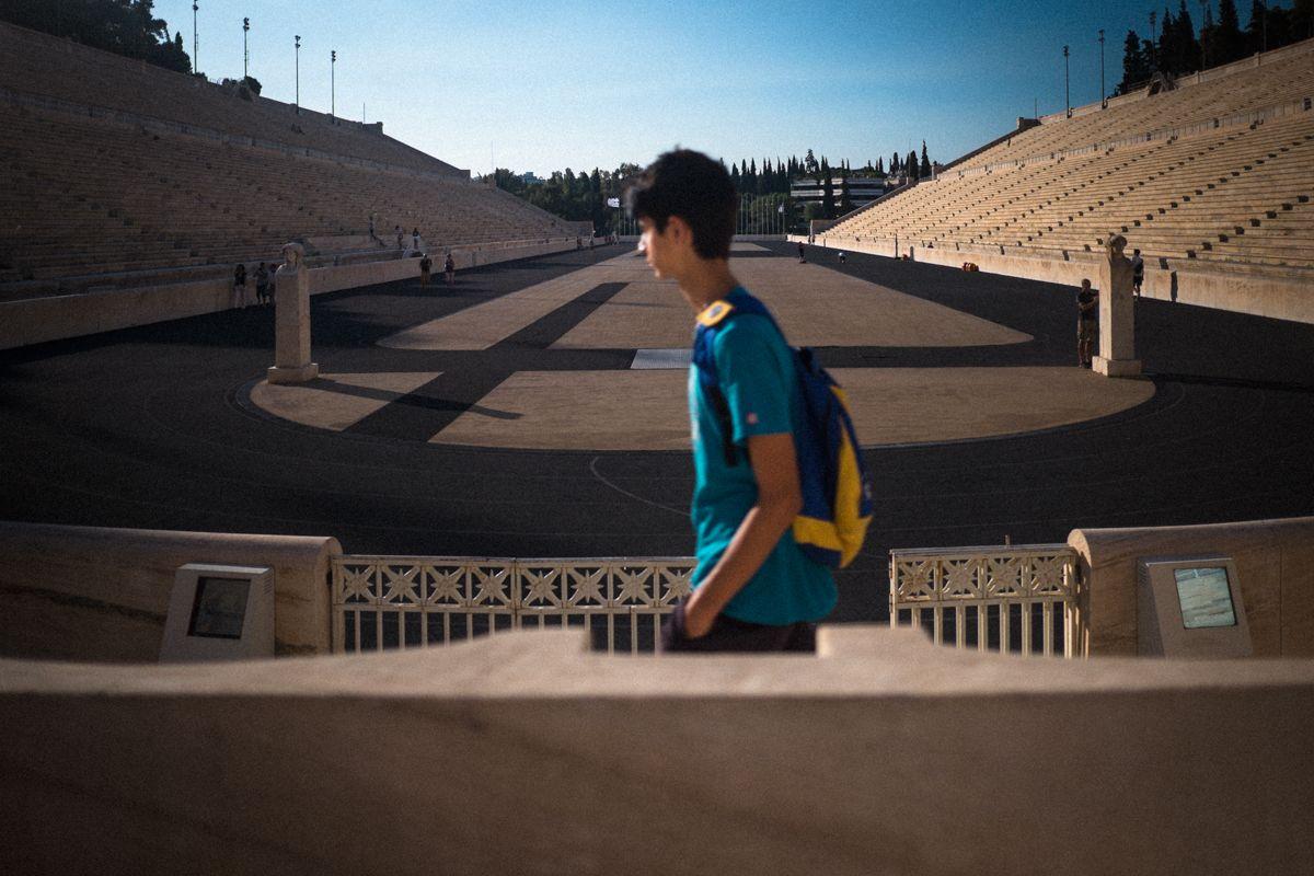 Panathinaiko-Stadion der neuzeitlichen olympischen Spiele