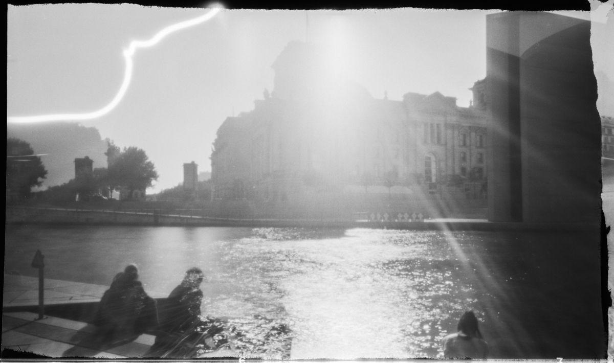 Lochkamera Berlin Reichstag