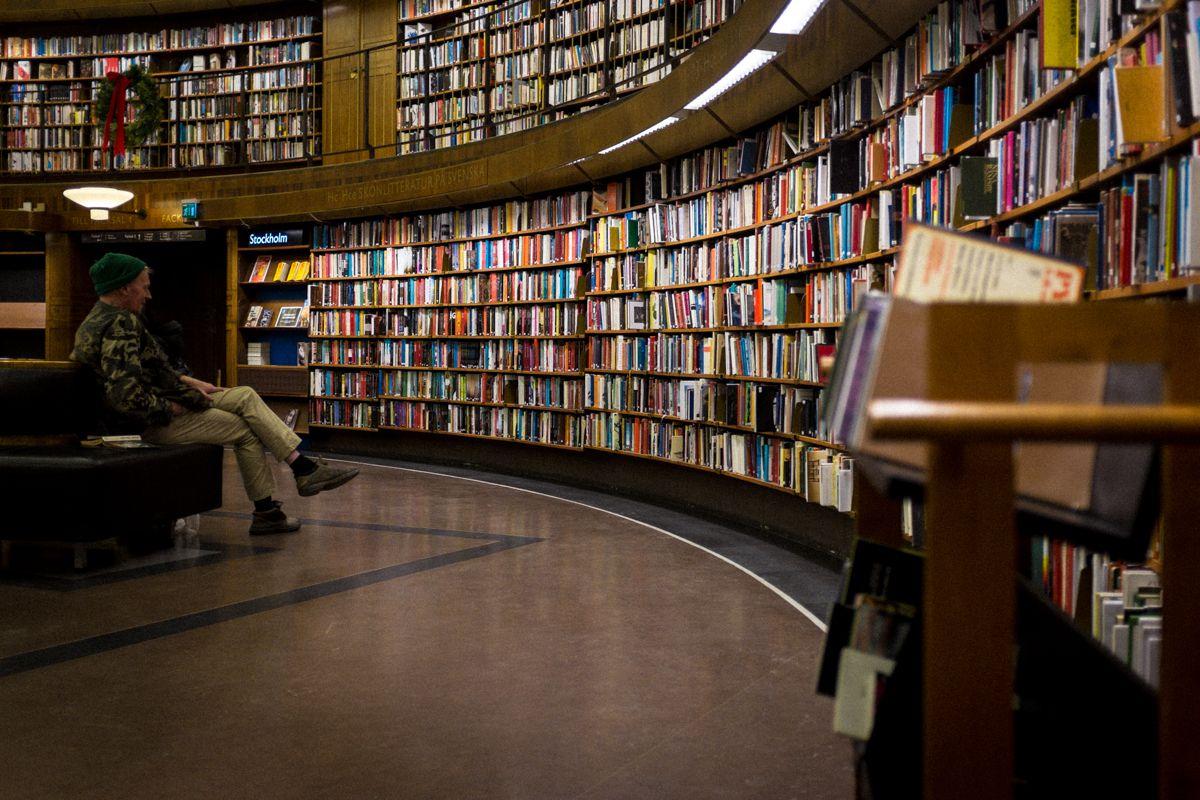 öffentliche Bibliothek in Stockholm