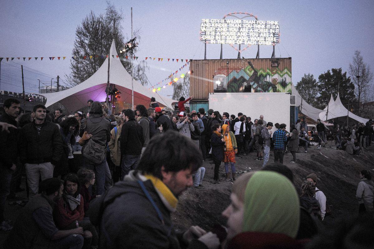 Eröffnung des Holzmarktes - ehemals Bar 25