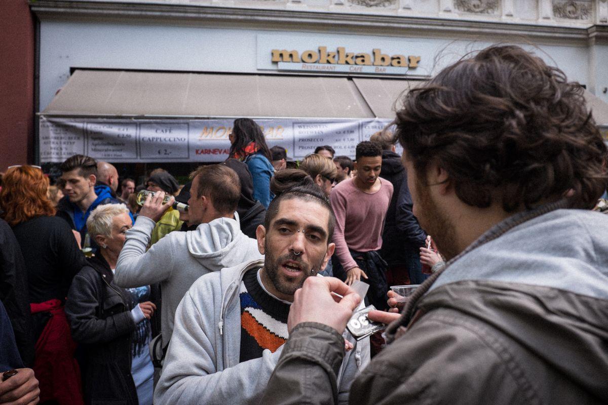 Mokka Bar in der Gneisenaustraße in Berlin