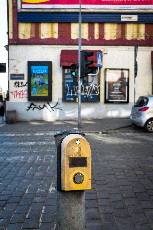 Straßenkreuzung in Rynek