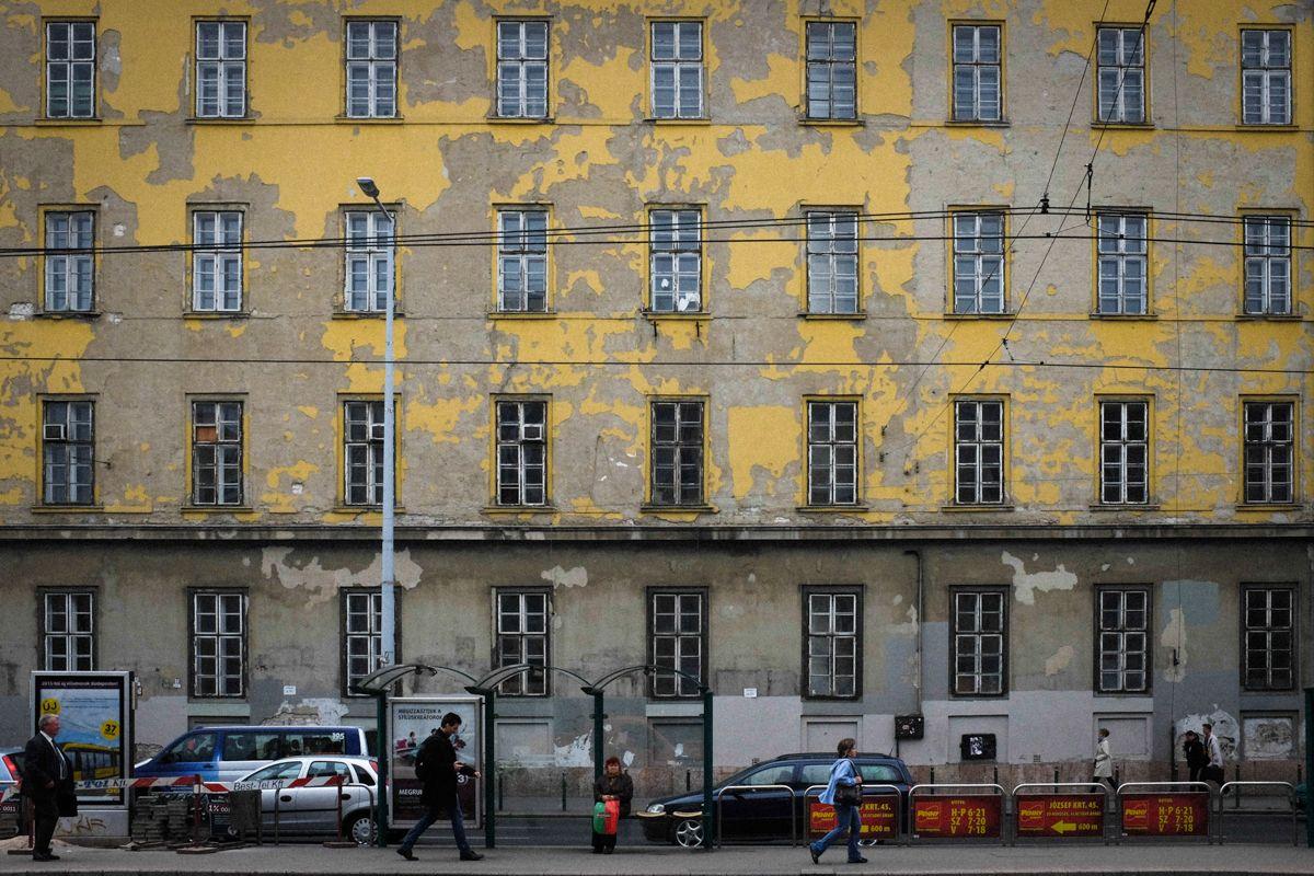 alte Budapester Fassade