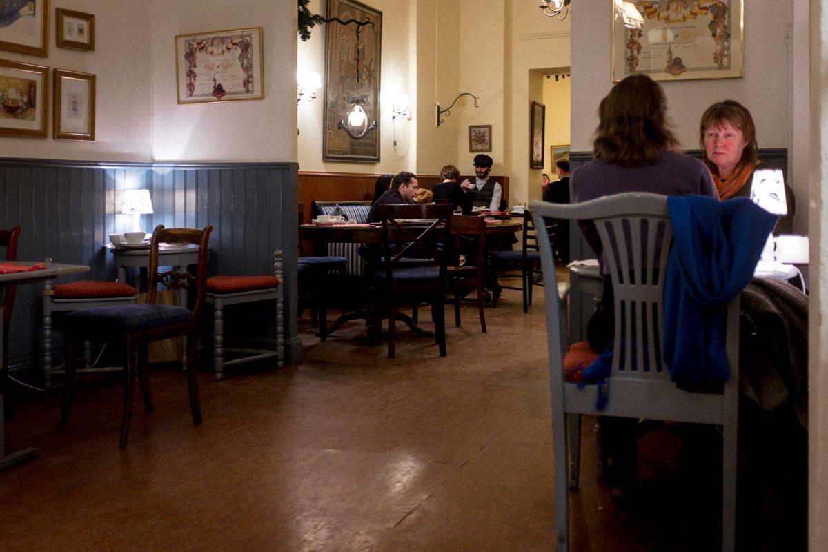 schwedisches Café in Stockholm