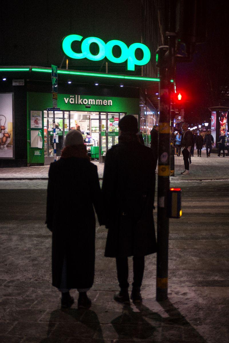 Coop Supermarkt in Stockholm