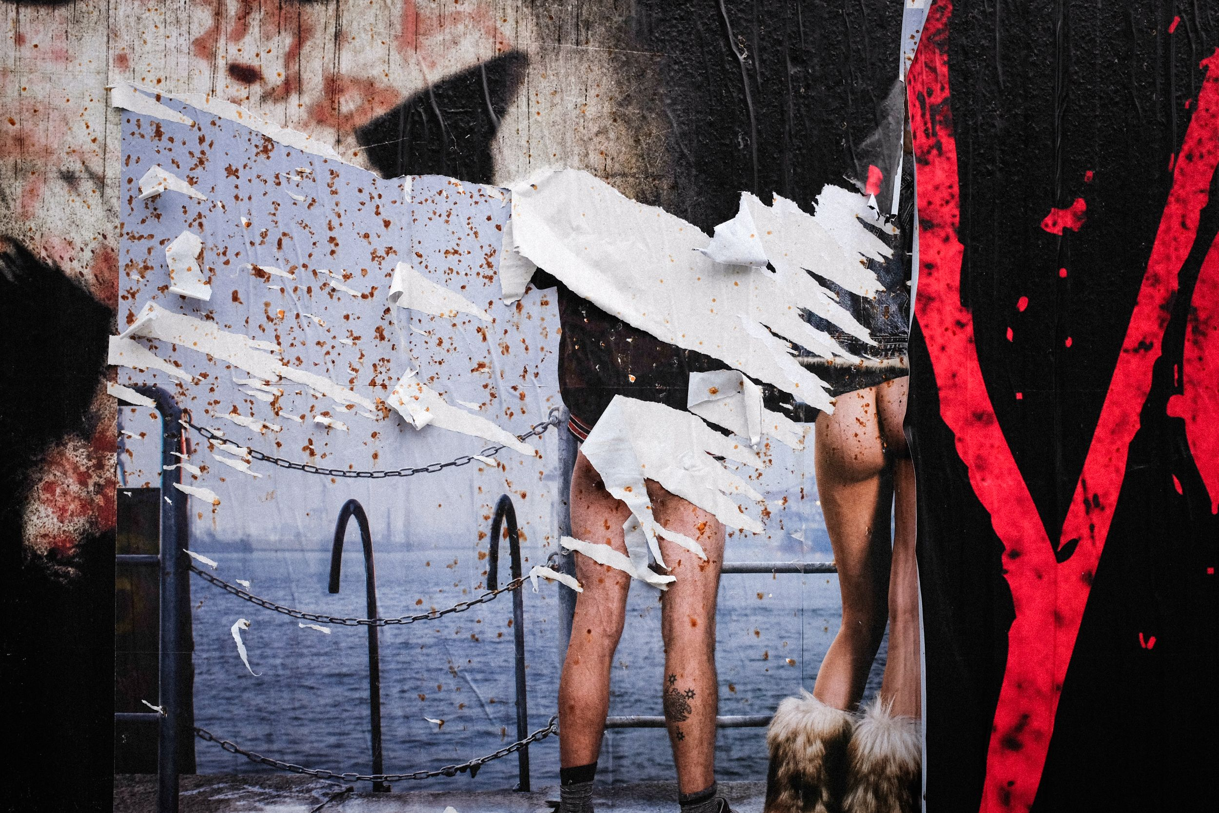Plakat in Berlin Kreuzberg