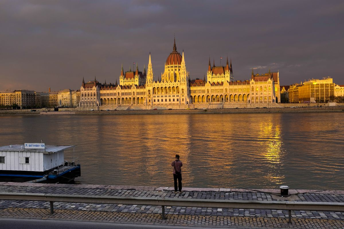 ungarisches Parlament in Budapest