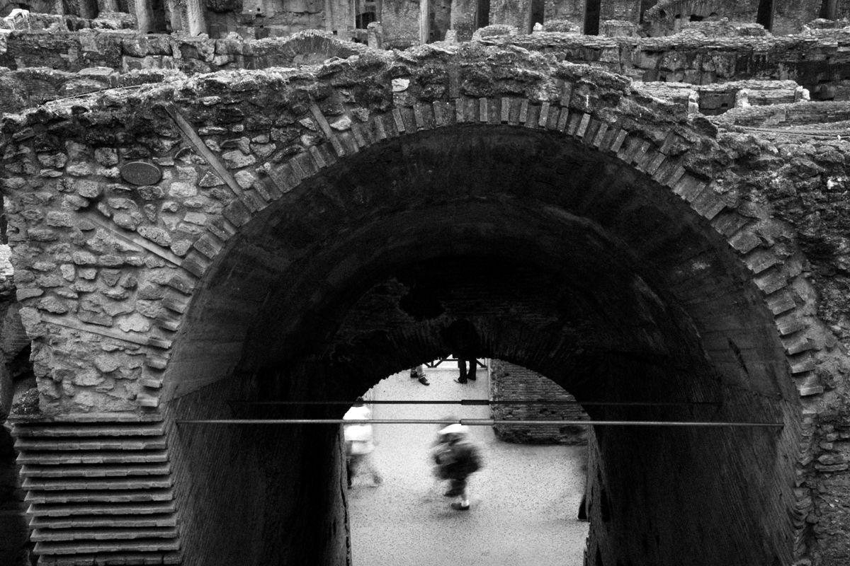 Langzeitbelichtungen Rom - Kolosseum