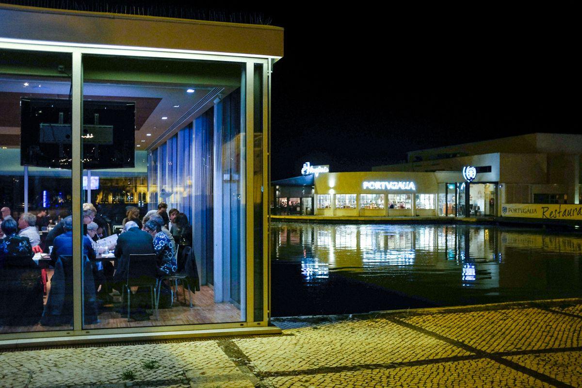Restaurants am Ufer des Tejo