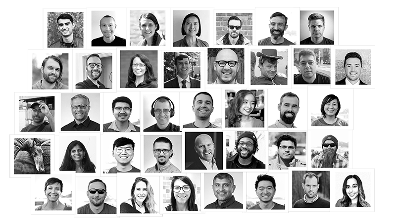 PlanetScale team member collage.