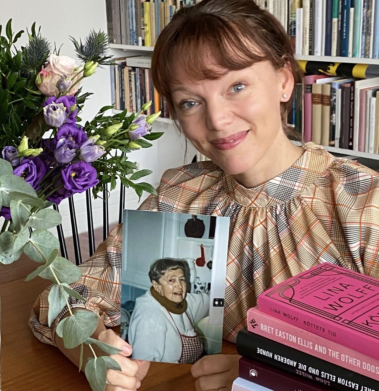 Forfatter LIna Wolff av Kjøttets tid.