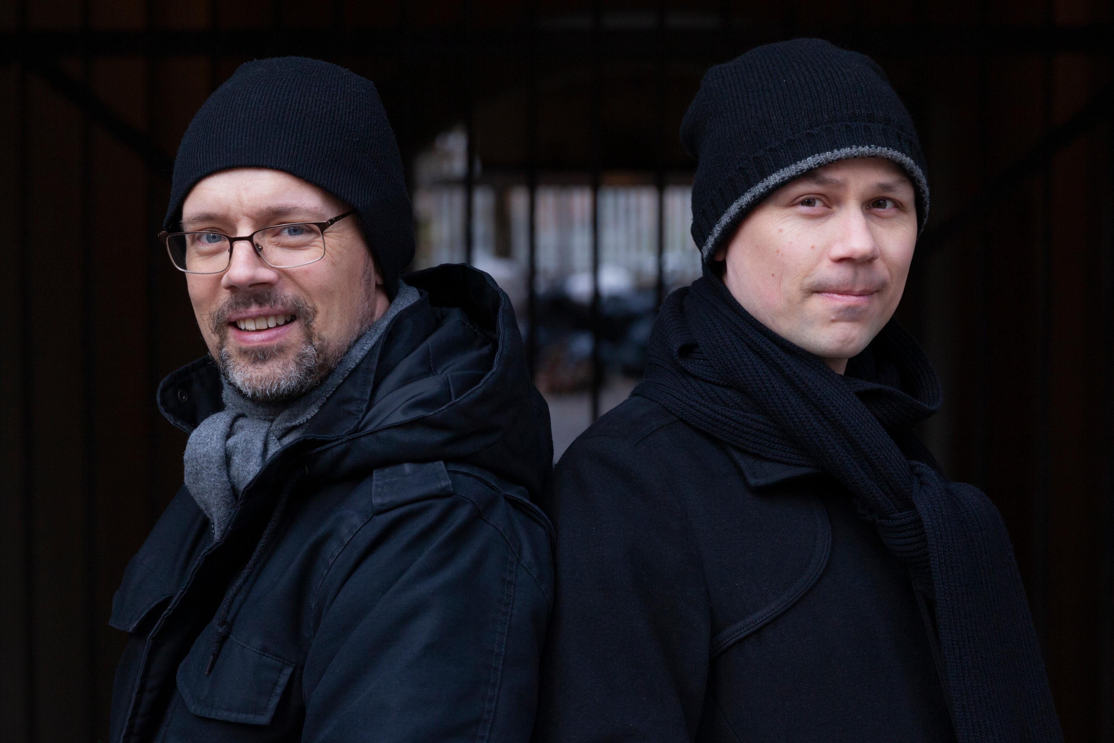 Forfatter Lars Mæhle og illustratør Odd Henning Skyllingstad har gjort suksess med krim for barnehagebarna.