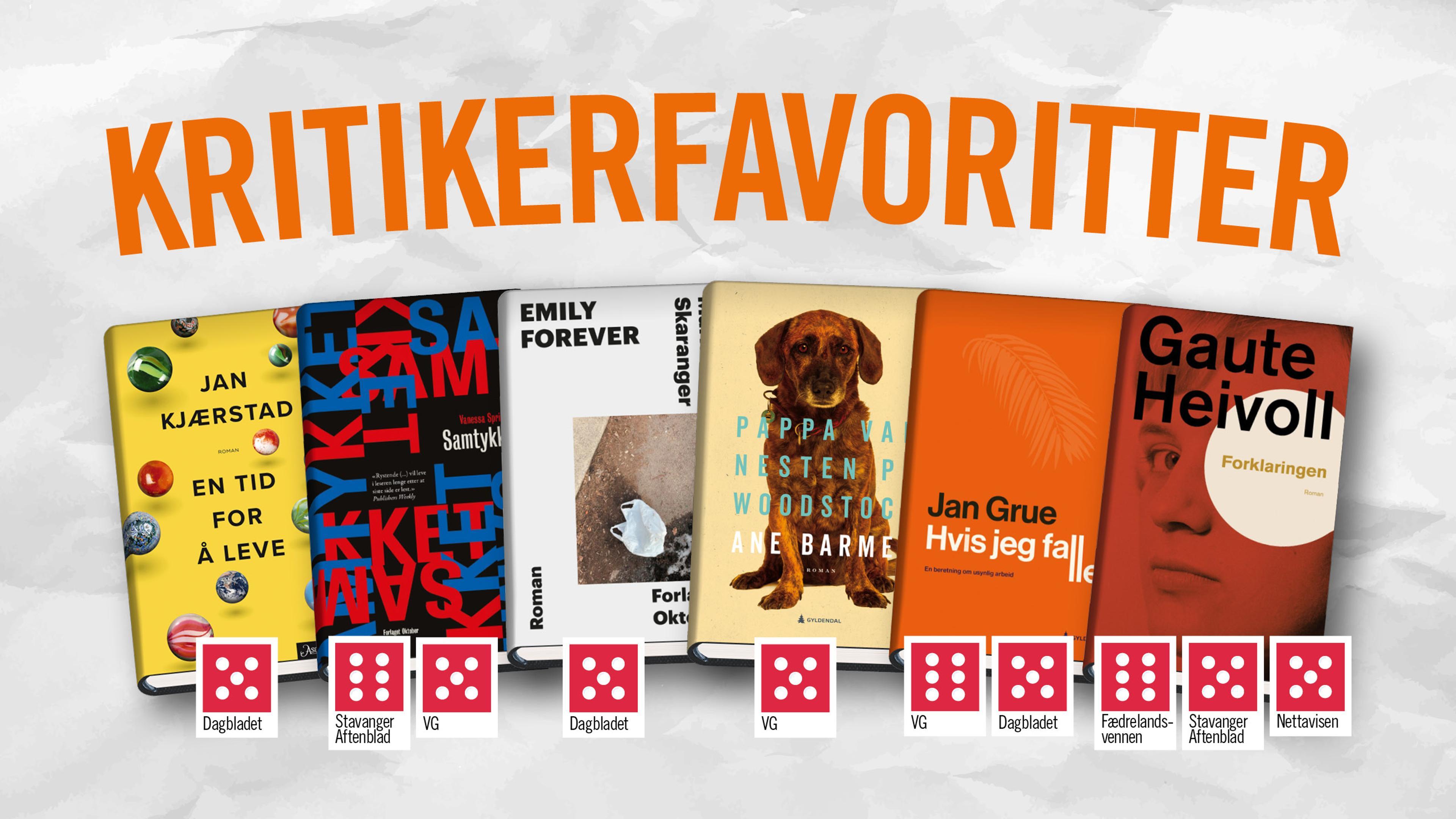 Trenger du et boktips til høsten? Her er seks knallgode lesetips.